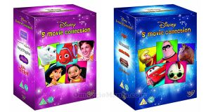 box 5 DVD Disney