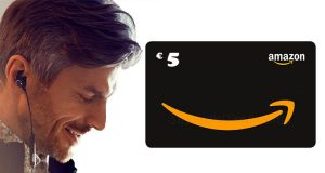 buono Amazon 5 euro con Prime Music