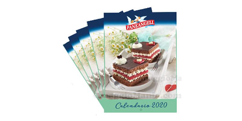 calendario Paneangeli 2020 omaggio anticipazione