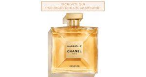 campione omaggio Gabrielle Chanel Essence