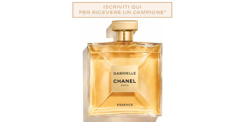 campione omaggio Gabrielle Chanel Essence
