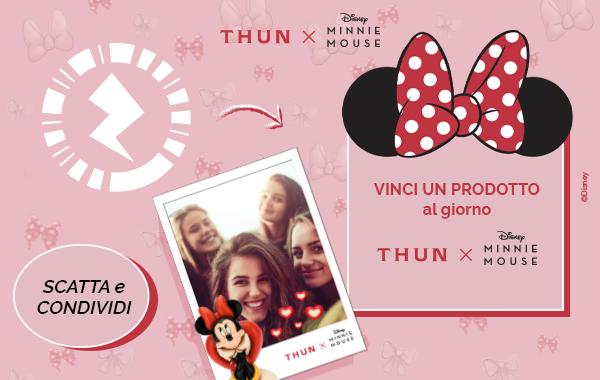 concorso Thun Minnie Mouse per scansione