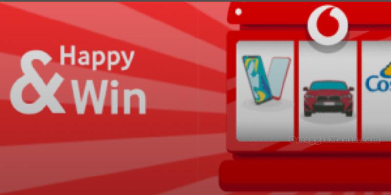 concorso Vodafone Happy & Win