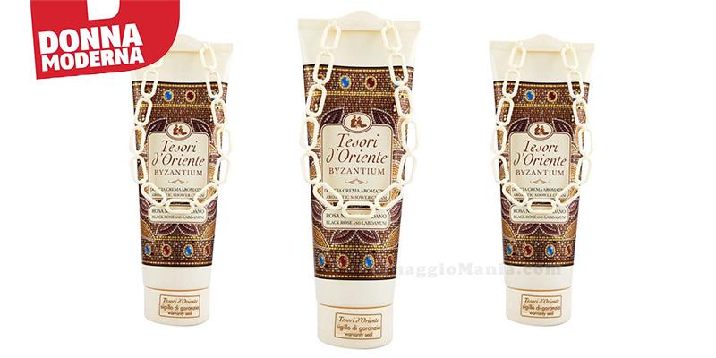 doccia crema aromatico Tesori d'Oriente Byzantium con Donna Moderna