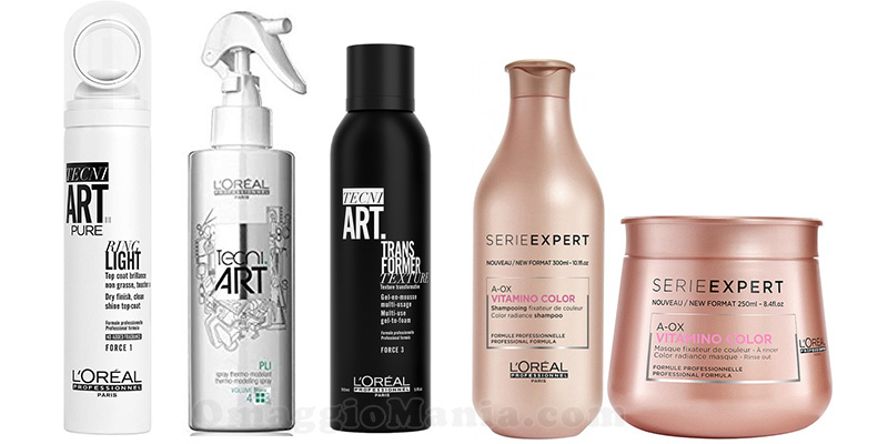 gift box L'Oréal Professionnel X-Factor Limited Edition