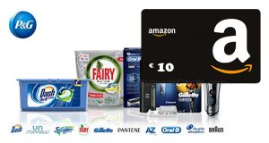 P&G Amazon spendi 30 ricevi 10