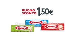 buono sconto Yakult 1,50 euro