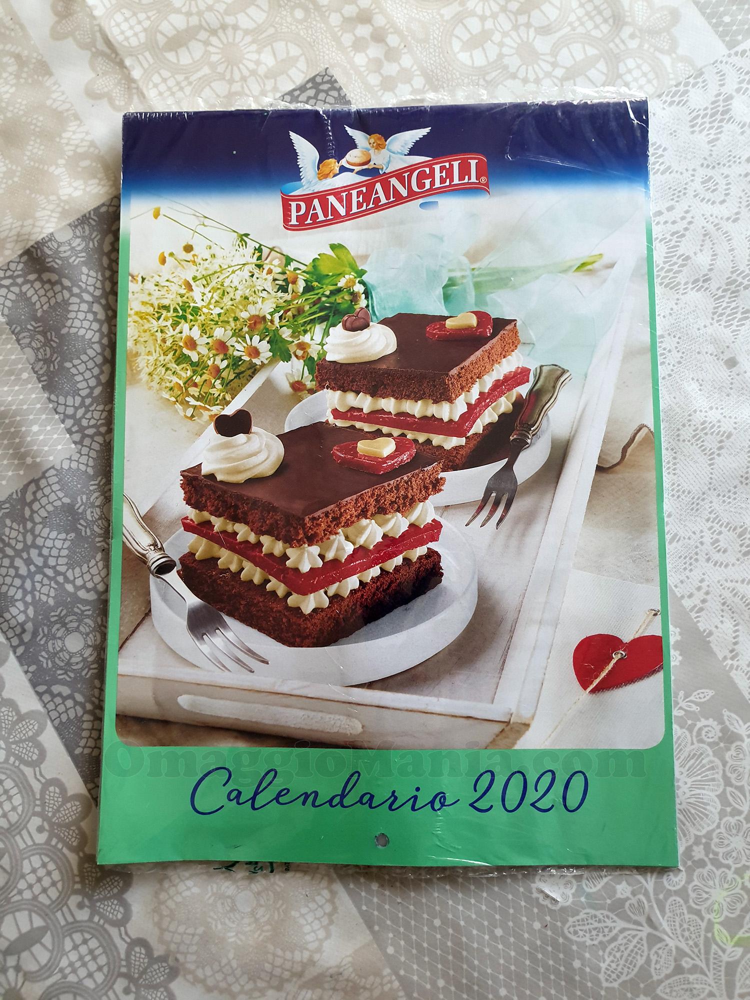 calendario Paneangeli 2020 di Claudia