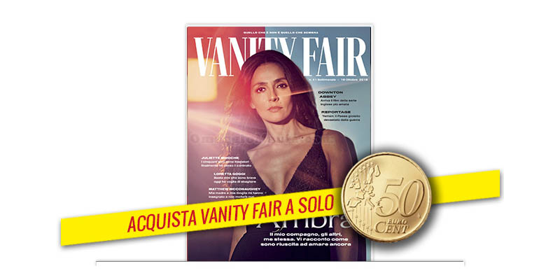 coupon Vanity Fair 40 2019
