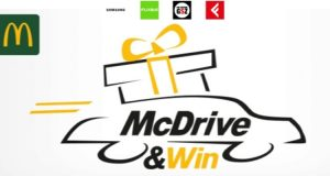 "mcdonald's ""McDrive & win"""