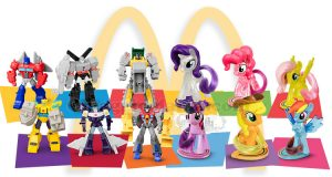 personaggi My Little Pony e Transformers con Happy Meal McDonald's