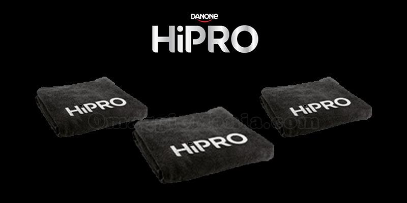 telo fitness omaggio con HiPro Danone