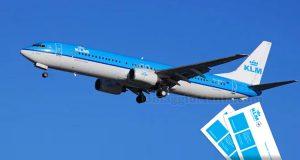vinci biglietti aerei KLM