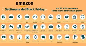 Amazon offerte Settimana del Black Friday 2019