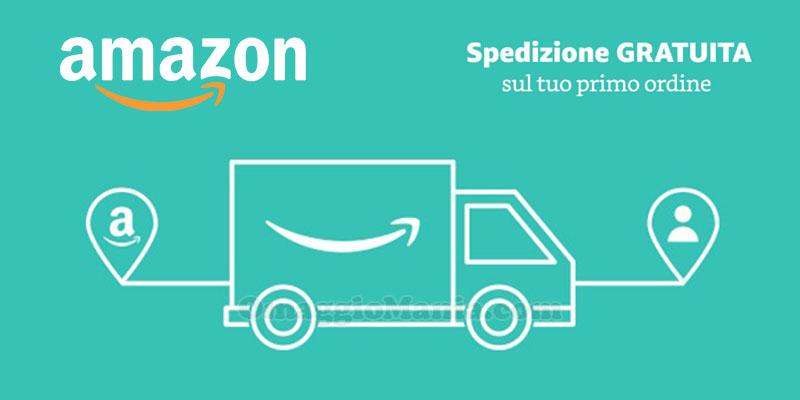 Amazon spedizione gratuita sul tuo primo ordine