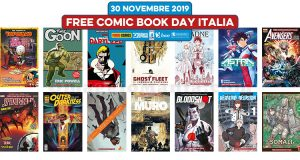 Free Comic Book Day Italia 2019