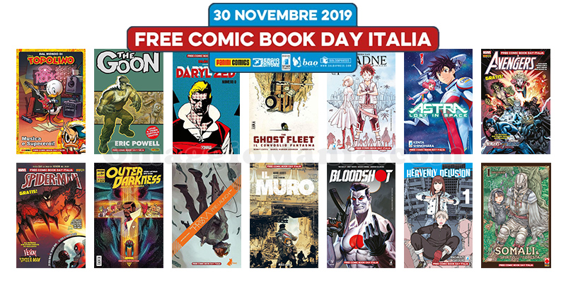 Free Comic Book Day Italia 2019
