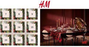 H&M calendario Avvento 2019 1 dicembre