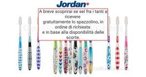 aggiornamento spazzolini Jordan omaggio