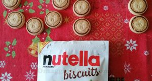 biscotti Nutella Biscuits con dedica a OmaggioMania