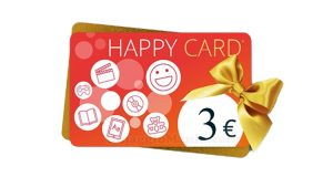 buono happy card IBS 3 euro
