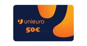 buono sconto Unieuro 50 euro