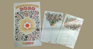 calendario Conad 2020 omaggio