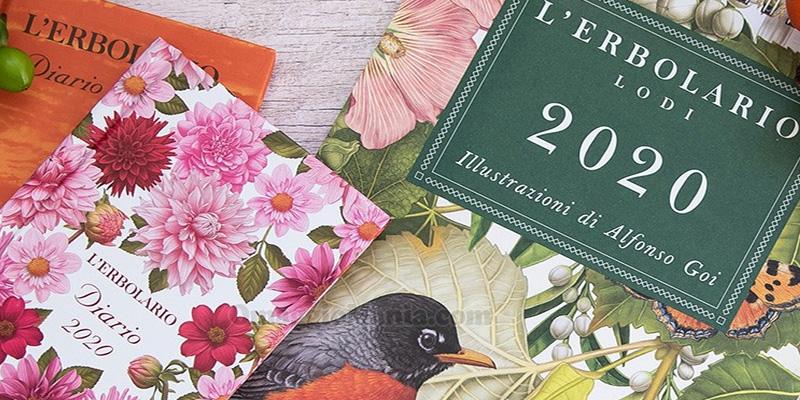 L'Erbolario: calendario e agenda 2020 omaggio   OmaggioMania