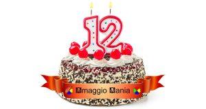 compleanno OmaggioMania 12 anni