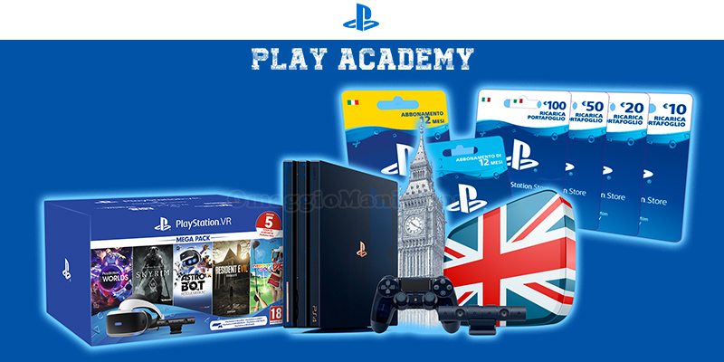 concorso PlayStation Play Academy