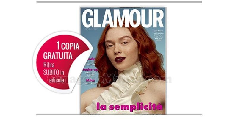 coupon omaggio Glamour 327