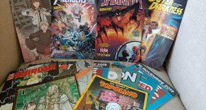 fumetti ritirati gratis da Valeria per il Free Comic Book Day Italia 2019