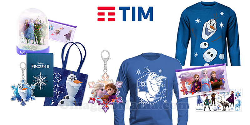 gadget Disney concorso TIM Vinci un viaggio in Finlandia
