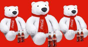 maxi orsi peluche Coca Cola