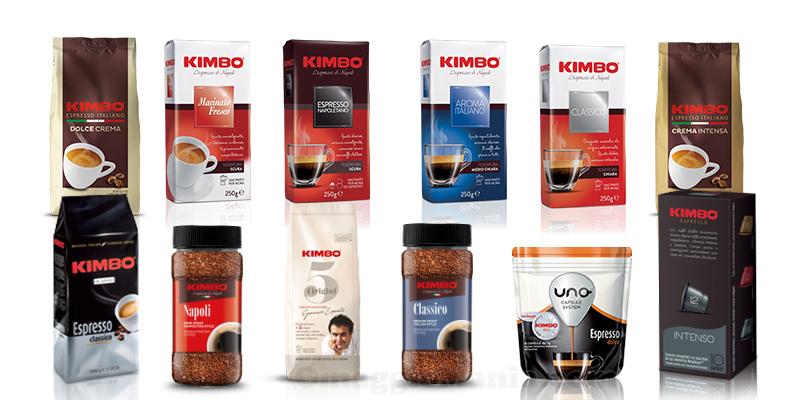 prodotti Kimbo