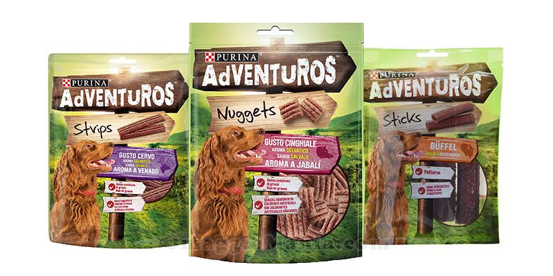 prodotti Purina Adventuros