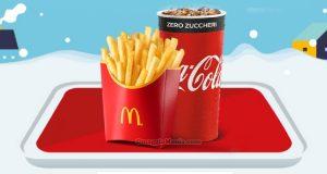 bevanda patatine grandi McDonald's Winterdays 2019