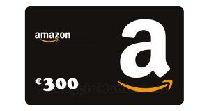 buono Amazon 300 euro
