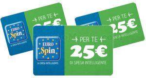 carte regalo Eurospin 25 euro