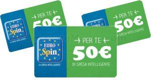carte regalo Eurospin 50 euro