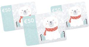 carte regalo Slumbersac 50 euro