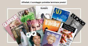 coupon omaggio rivista Condé Nast Quality Tester