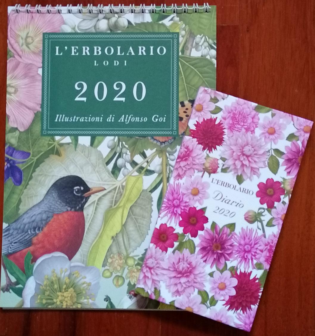 L'Erbolario: calendario e agenda 2020 in omaggio   OmaggioMania