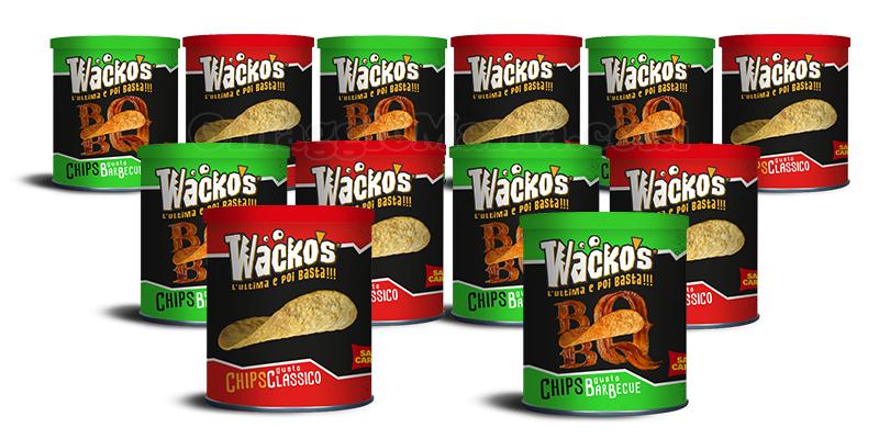 fornitura di patatine Wacko's