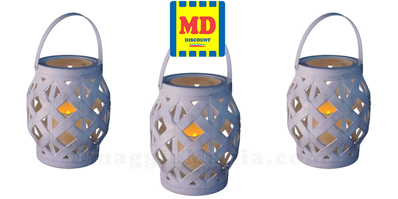 lanterna effetto candela da MD