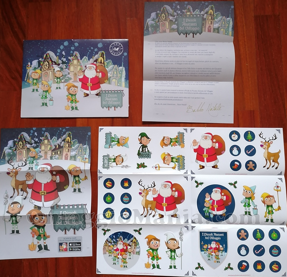 letterina di Babbo Natale di Poste Italiane