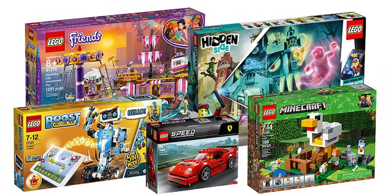 premi concorso LEGO Vinci con Super! e Lego Life