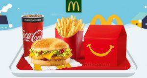 McDonald's Winterdays 2019 McMenu grande + Happy Meal