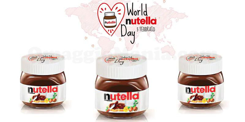 Nutella omaggio per il World Nutella Day 2020
