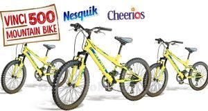 Vinci una bici con i Cereali Nesquik e Cheerios